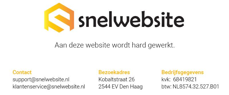 Snelwebsite